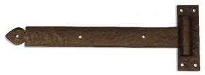 Dark Bronze Heavy Duty Driveway Gate Strap Hinge 20-380-LH