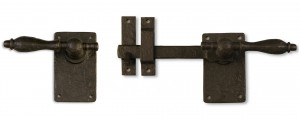 Dark Bronze Gate Latch with Rounded Handle 60-300