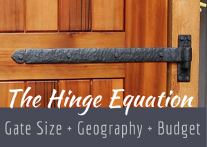 How To Choose Outdoor Gate Hinges