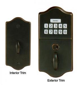 Keyless Deadbolt Keypad Gate Lock E1000