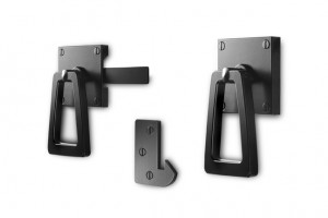 Modern Gate Latch with Tapered Handle