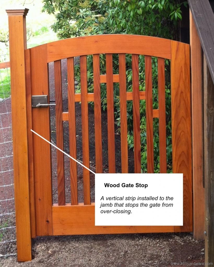 Wood Gate Stop