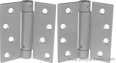 304 stainless steel spring hinges for gates and pool gates