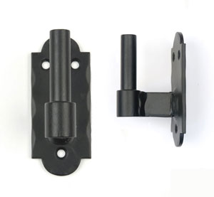 Carbon Steel Shutter Hardware Rounded Pintle by Lynn Cove