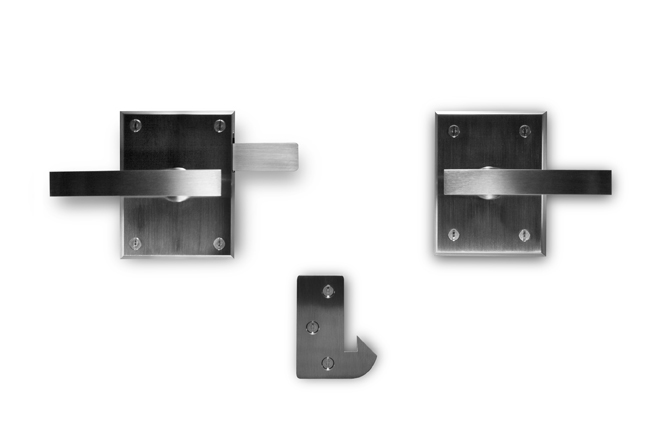 Alta Stainless Steel Modern Contemporary Gate Latch by 360 Yardware