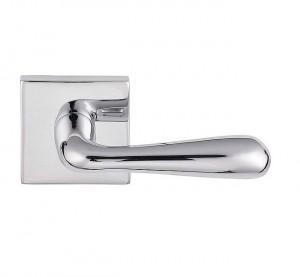 Emtek Basel Brass Modern Leverset