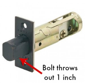 Emtek deadbolt thrown