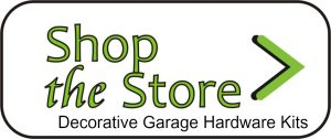 decorative garage door hardware kits at 360 yardware shop the store
