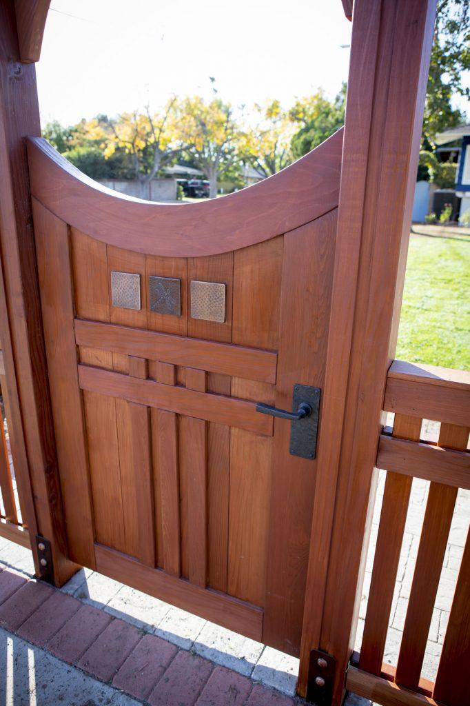 Coastal Bronze 8-inch square plate lever gate latch hardware