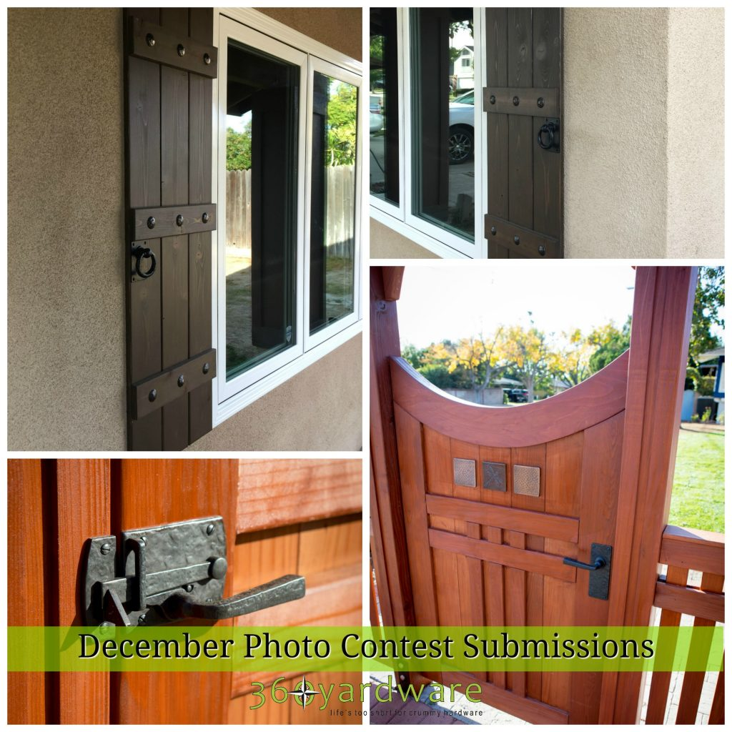 360 Yardware Photo Submission Contest Winner December Gate Hardware