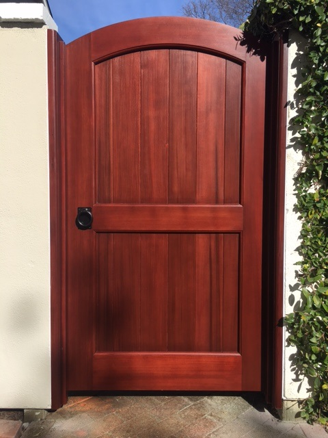 Black Gate Latch Craftsman Style Gate by Russell Fong Woodworker